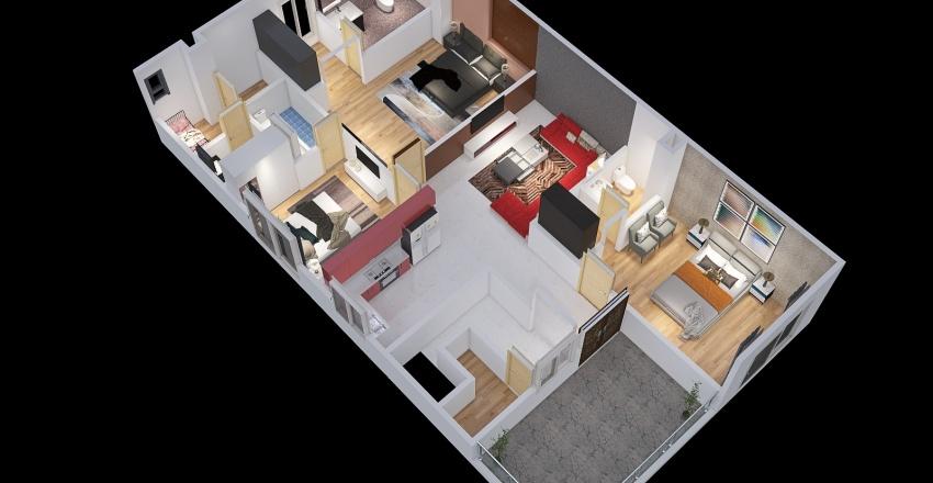 Copy of Zpn FRST FLOOR For views Interior Design Render