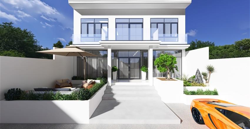 Countryside House  Interior Design Render