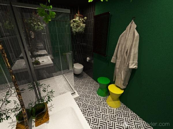 Scala Artists Shower Room Interior Design Render