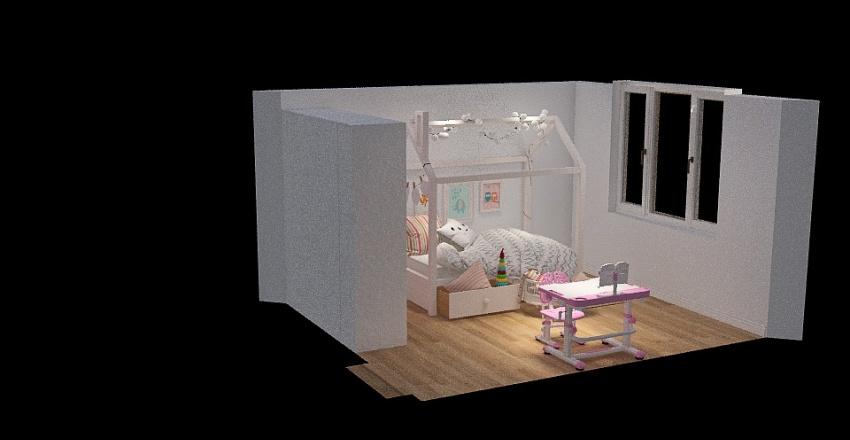 Copy of детская Татьяна Осокорки Interior Design Render