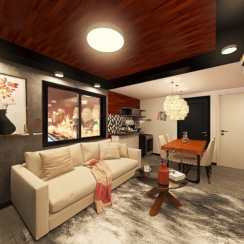 Copy of JVR House IDR01 Interior Design Render