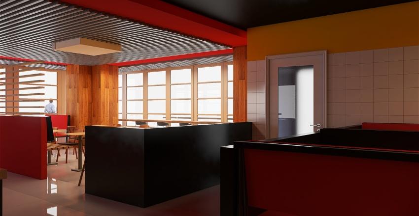 Сложный замут Interior Design Render