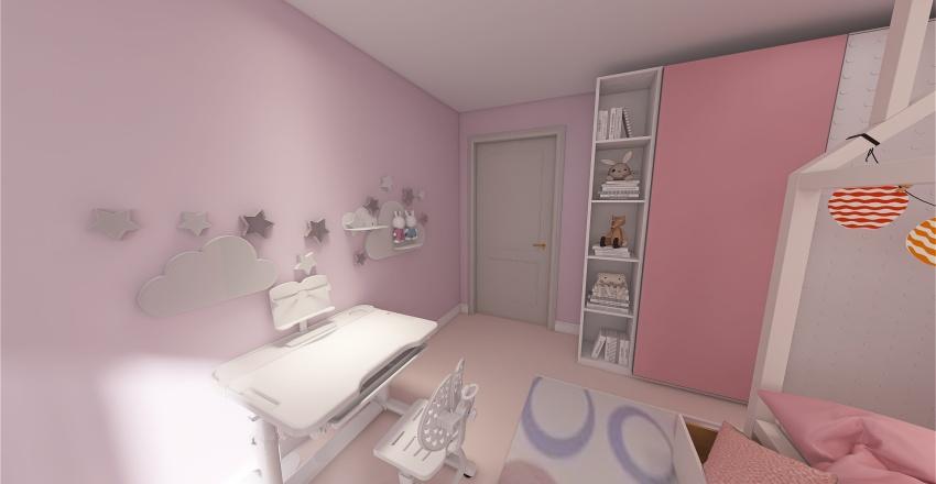 ВАриант 4 of детская Татьяна Interior Design Render