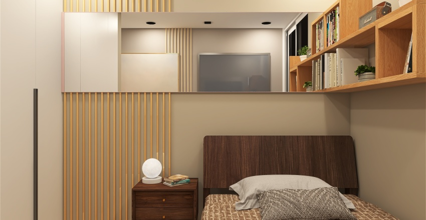 AZULEJO APARTMENTS Interior Design Render