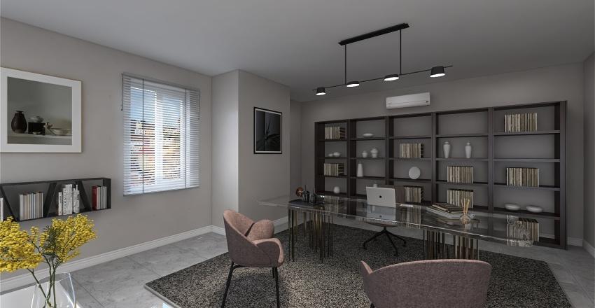 OFFICE PROJECT Interior Design Render