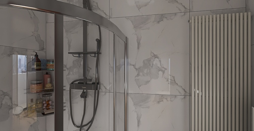 DEPARTAMENTO DE 61.16㎡ Interior Design Render