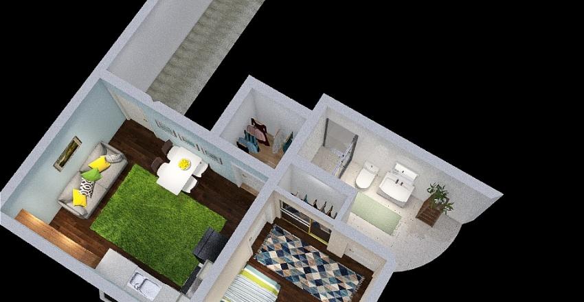 Basement apt2 Interior Design Render