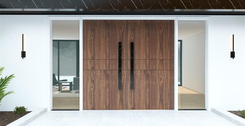 Ultra Modern Home Interior Design Render