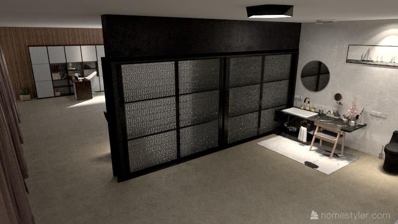 My firts Loft  Interior Design Render