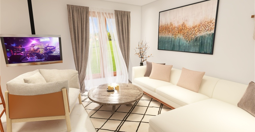 Maison Villiers Interior Design Render