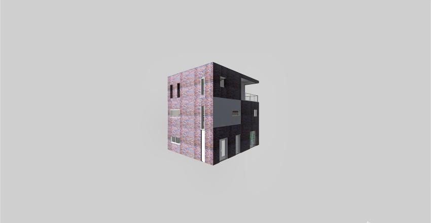 Final Full House Brick trial!! Interior Design Render