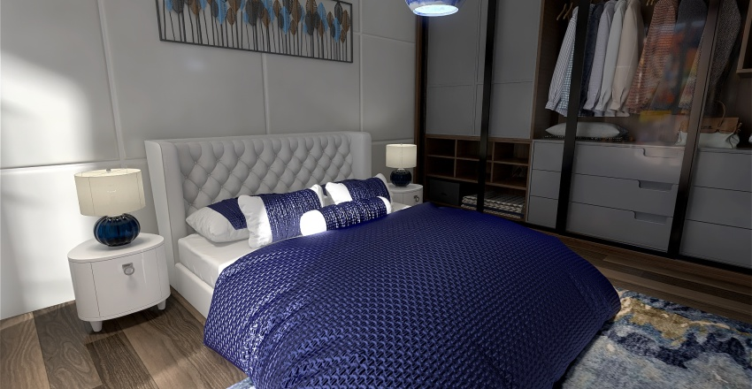 The Courts at Dulles Apartment Homes Interior Design Render