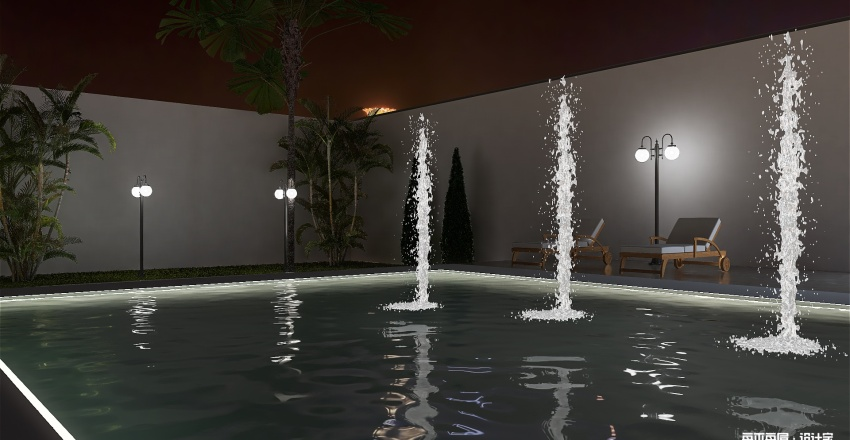 Resort Interior Design Render