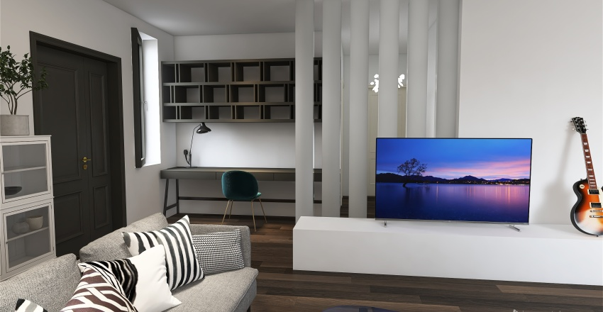 2br/ 3ba Interior Design Render