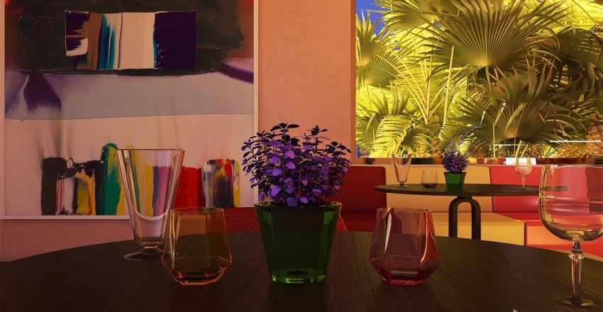 Lounge e Boutique, Miami FL Interior Design Render