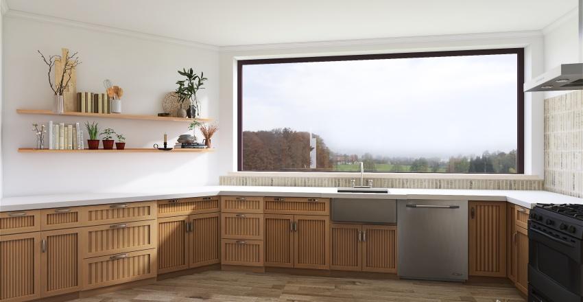 Family home renovation  Interior Design Render