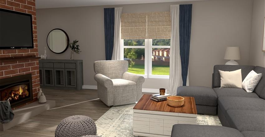 Gina G Open Living Interior Design Render