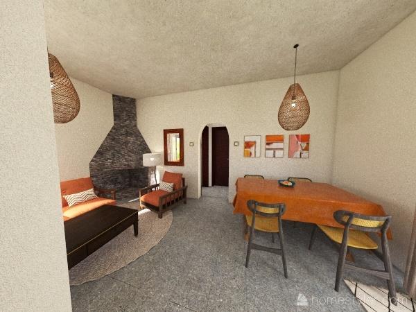 Solymar, Thami y Ricardo Interior Design Render