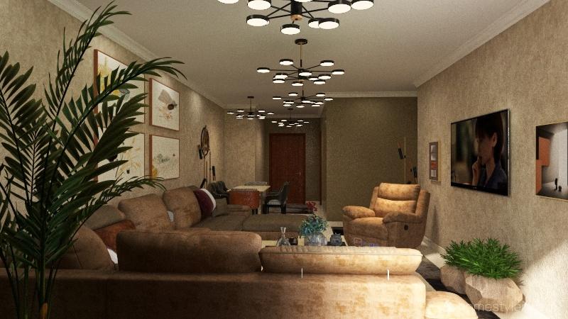 دار مصر الحاج محسن Interior Design Render