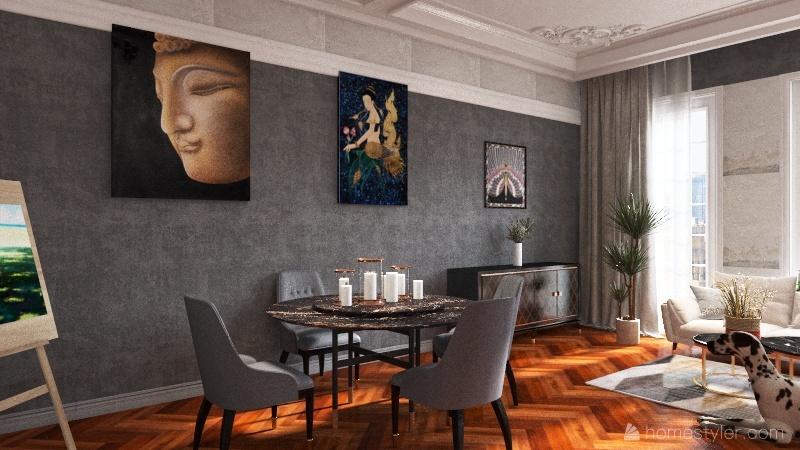 Room 1 Interior Design Render