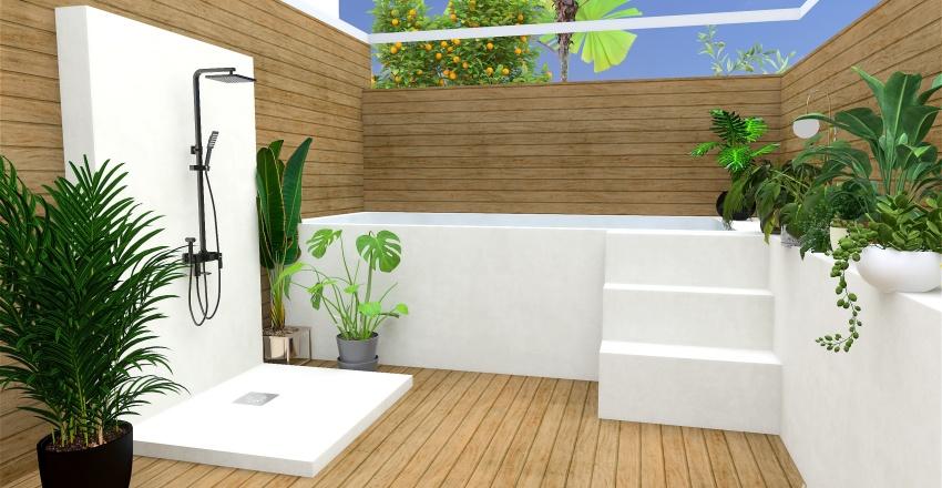 piscina Interior Design Render