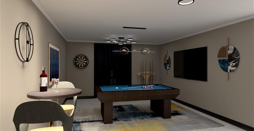 Basement 2 Interior Design Render