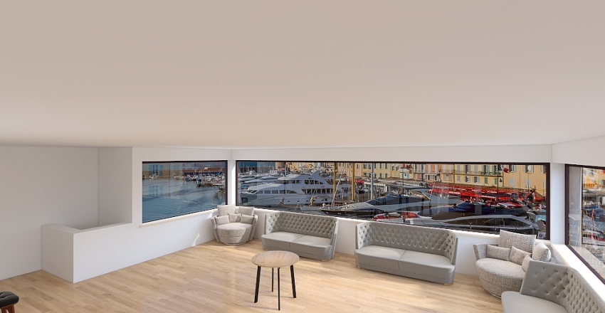 Projeto Bar Interior Design Render