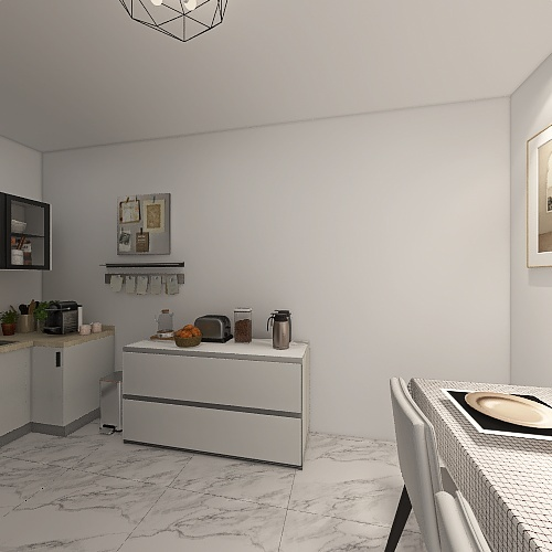 Home 6 Interior Design Render