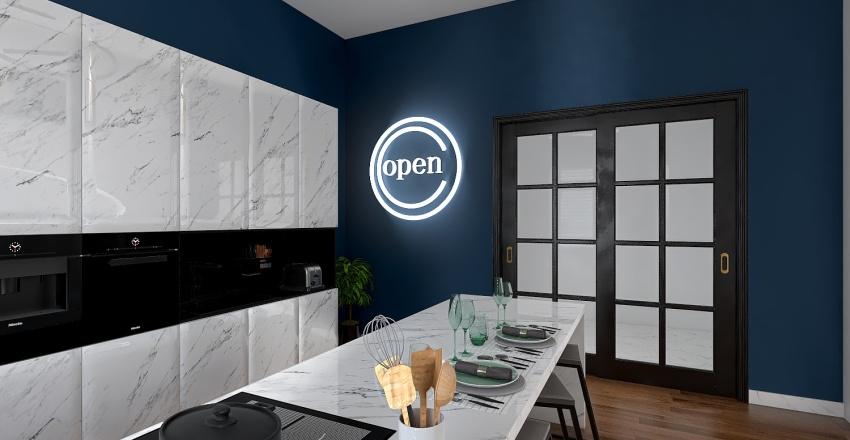 Project 1 - Kitchen Interior Design Render