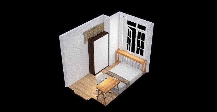 Neha's room Interior Design Render