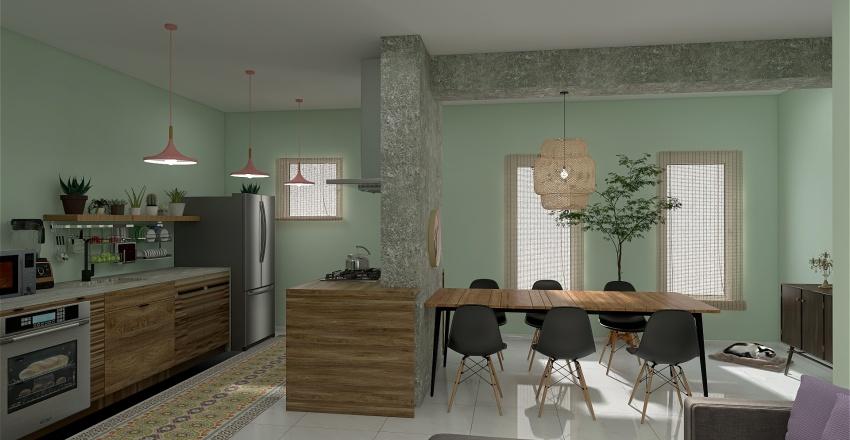 MiNUEVOdepartamento Interior Design Render