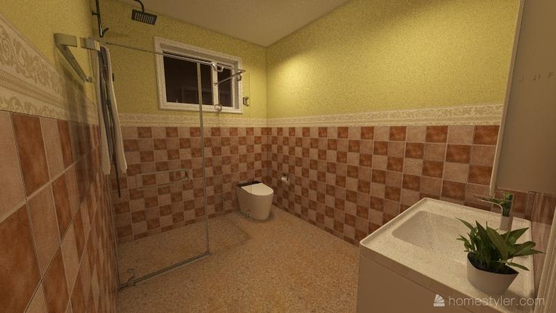 MInimalis 2floor Interior Design Render