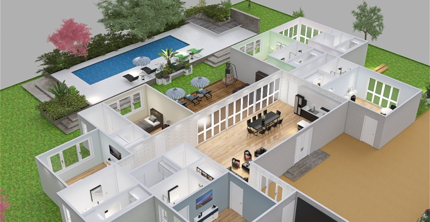 XR_cruzinbum Interior Design Render