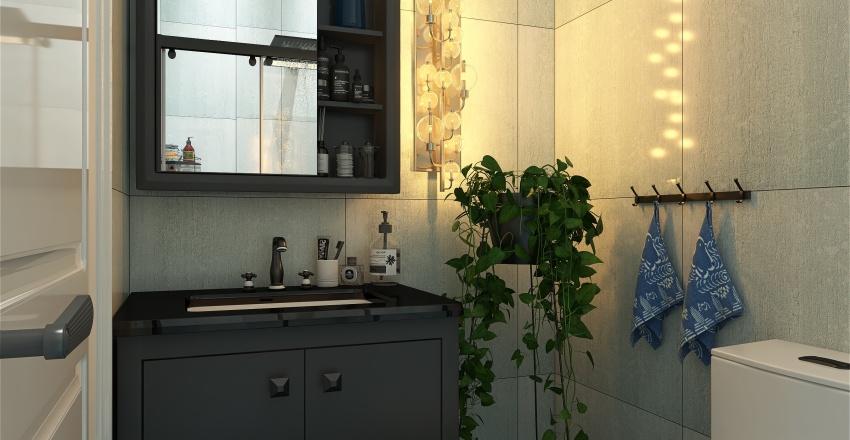 An ordinary home Interior Design Render
