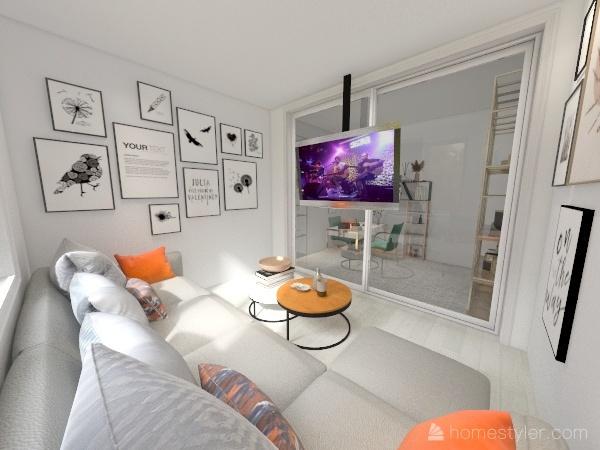 birou Interior Design Render