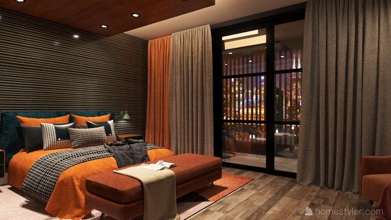 Palm Street 63 Interior Design Render