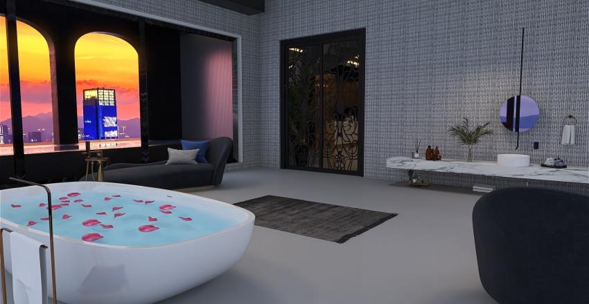 VİLLA Interior Design Render