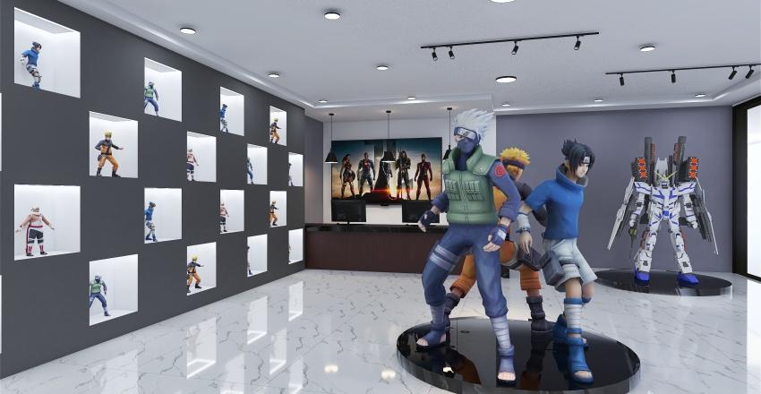 Collection Toy Shop Interior Design Render