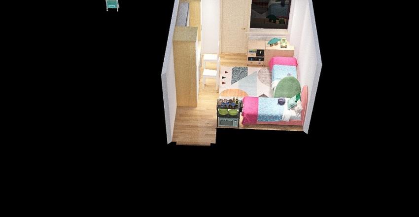 TE room Interior Design Render