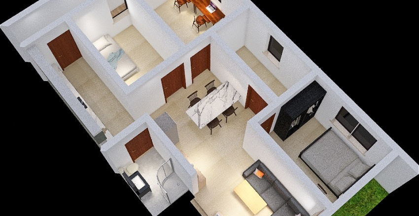 Property DC project 001 Interior Design Render