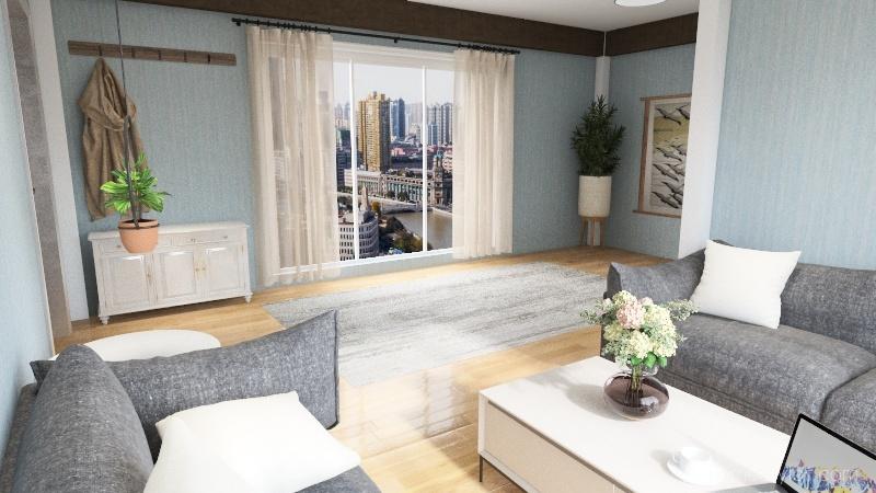 natruel Interior Design Render