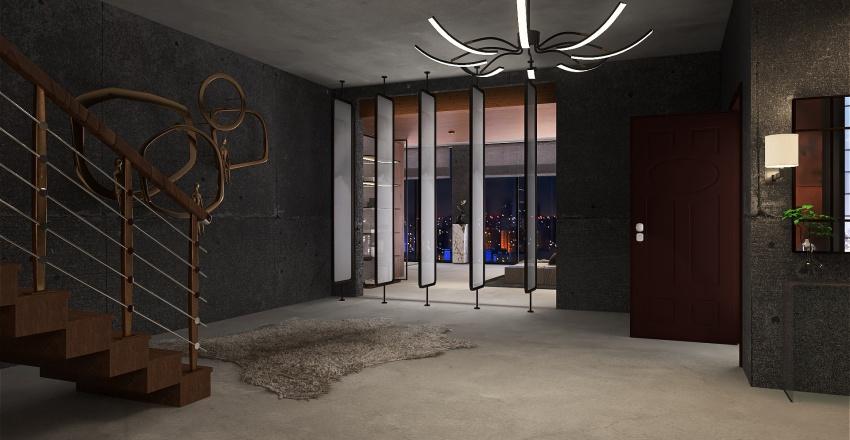 High Rise in Metropolis Interior Design Render