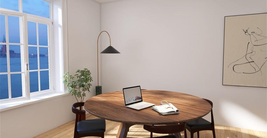 cute Interior Design Render