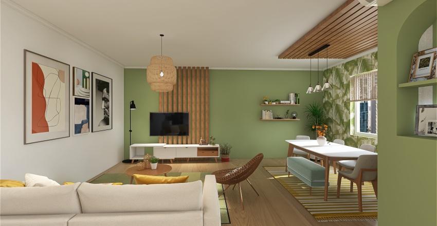 Orangreen Interior Design Render