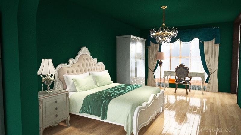 Urban Grannie Apartment Interior Design Render