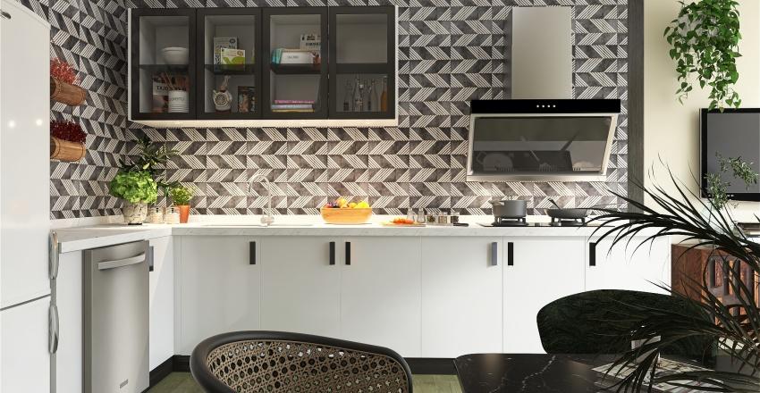 Your first studioapartment Interior Design Render