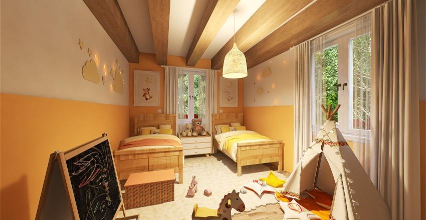 Mama's house Interior Design Render