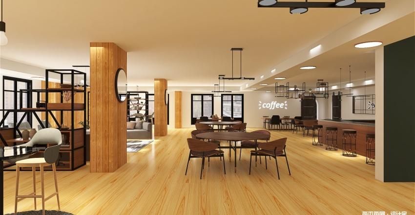 cafeteria1 Interior Design Render