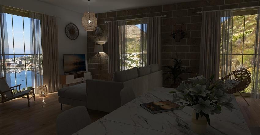 appartement de la cote  Interior Design Render