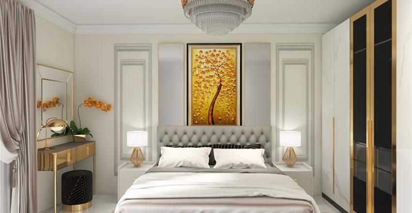 Bedroom zaharia Interior Design Render